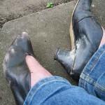 Сношенная обувь