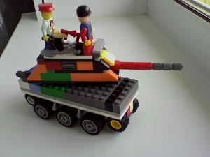 Танк БТ-1, вид 2