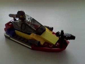 Пожарный мини-катер