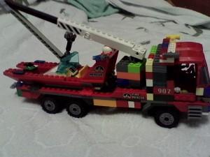 Пожарная машина без прицепа