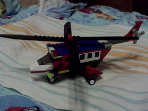Полицейский вертолет 1